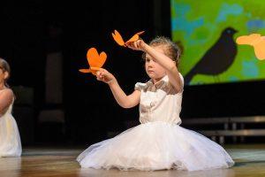 Taniec z motylkami w Garwolinie
