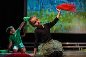 Taniec z chusteczka w Garwolinie